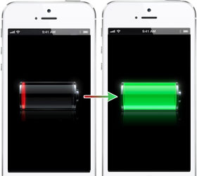 iphone 5 battery draining too fast