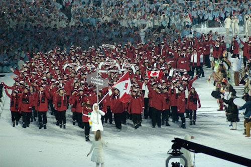 Photos of 2010 Winter Olympic Teams